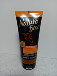 Nature Box Exfoliating Body Wash - for Refreshed Skin, with 100% Cold Pressed Apricot Oil, 6.8 Ounces