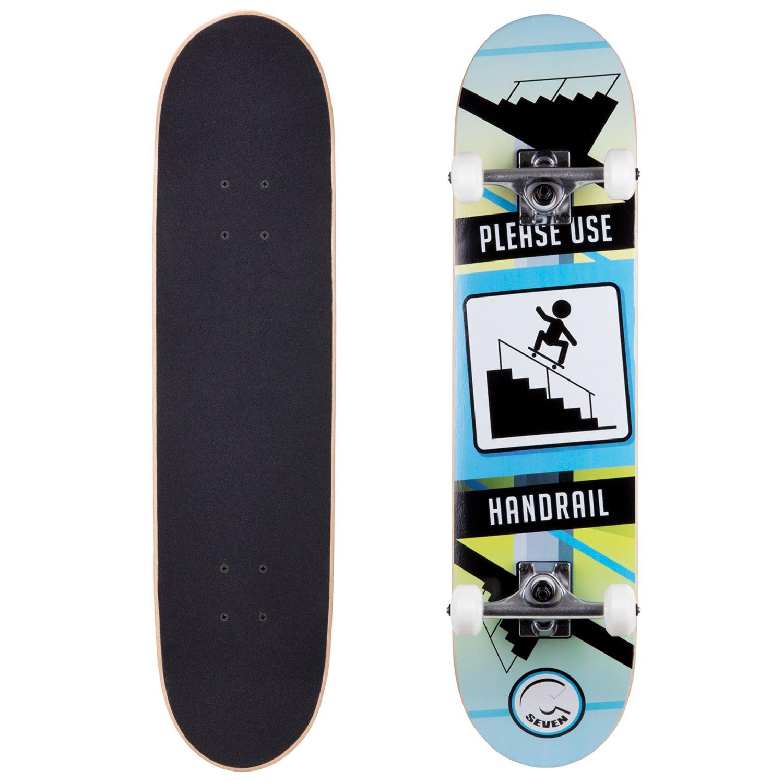 Cal 7 Handrail 7.5 Complete Skateboard, 52x31 99A PU