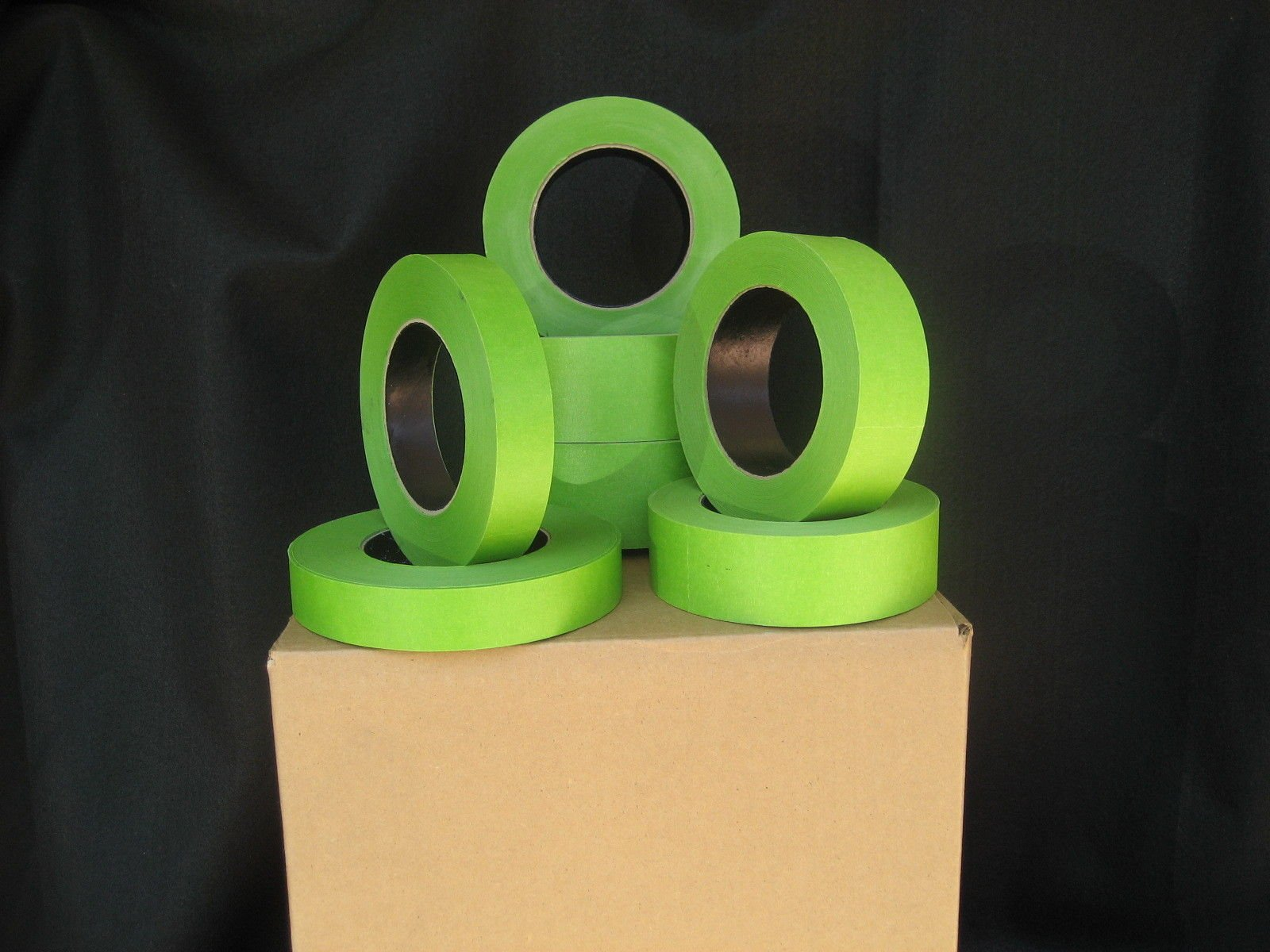 32 Rolls 1.5'' X 60 Yrds Green Painters Masking Tape,FACTORY SECONDS