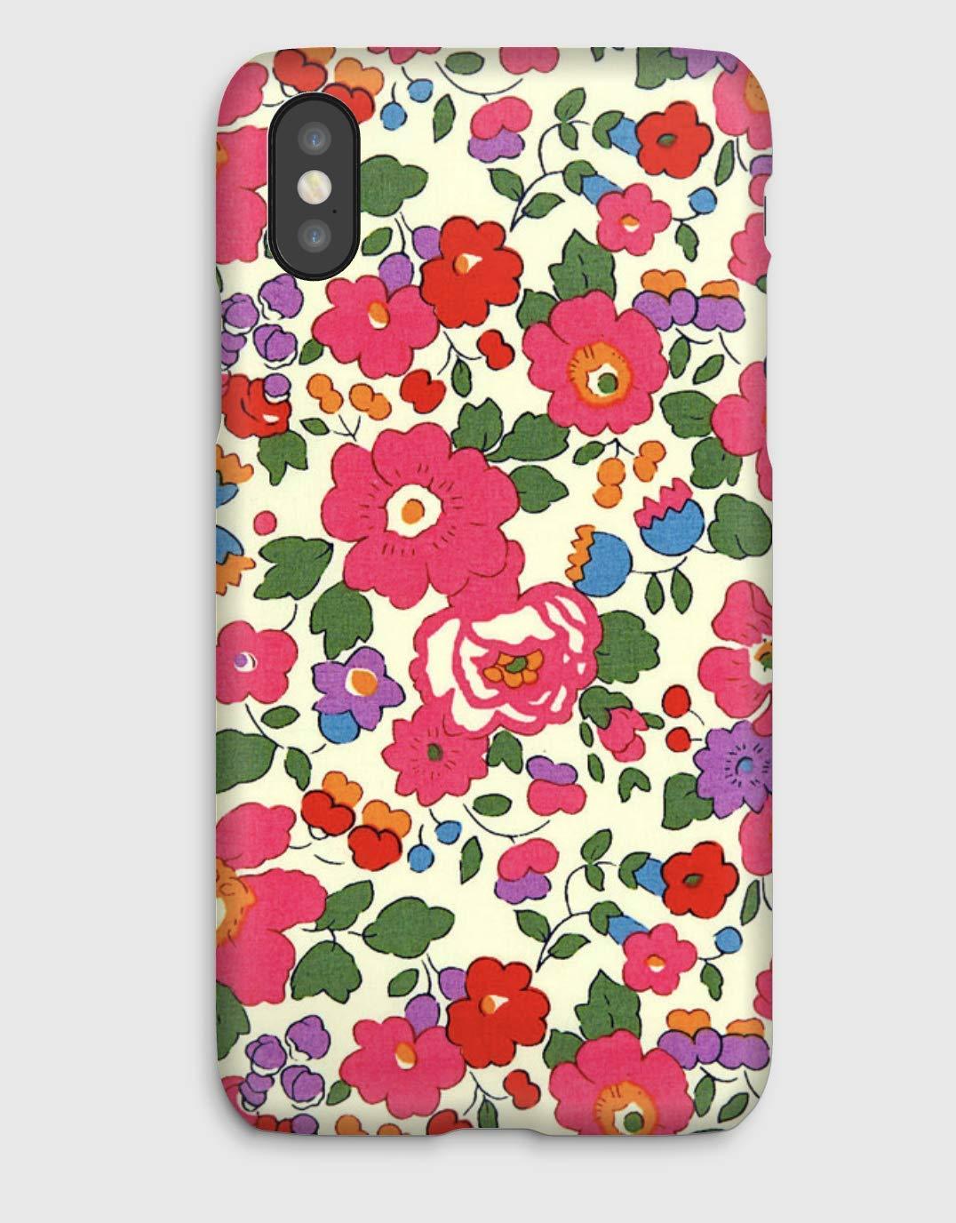 Betsy J, coque pour iPhone XS, XS Max, XR, X, 8, 8+, 7, 7+, 6S, 6, 6S+, 6+, 5C, 5, 5S, 5SE, 4S, 4,