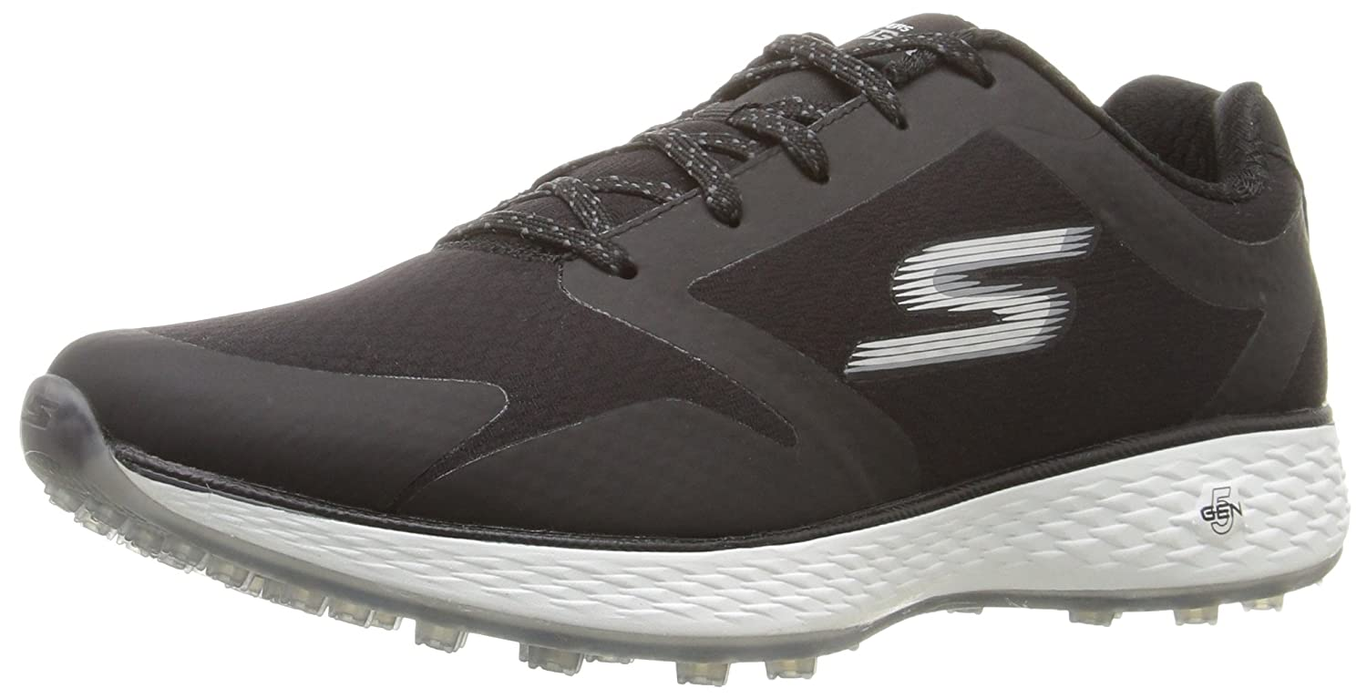 Skechers Women's Go Golf Birdie Golf Shoe B01GUVPXA4 9.5 B(M) US|Black/White
