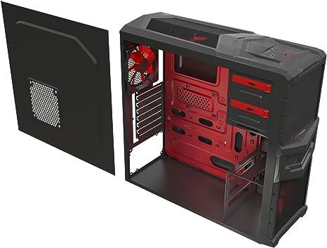 Mars Gaming MC4 - Caja de ordenador para gaming (diseñado ...