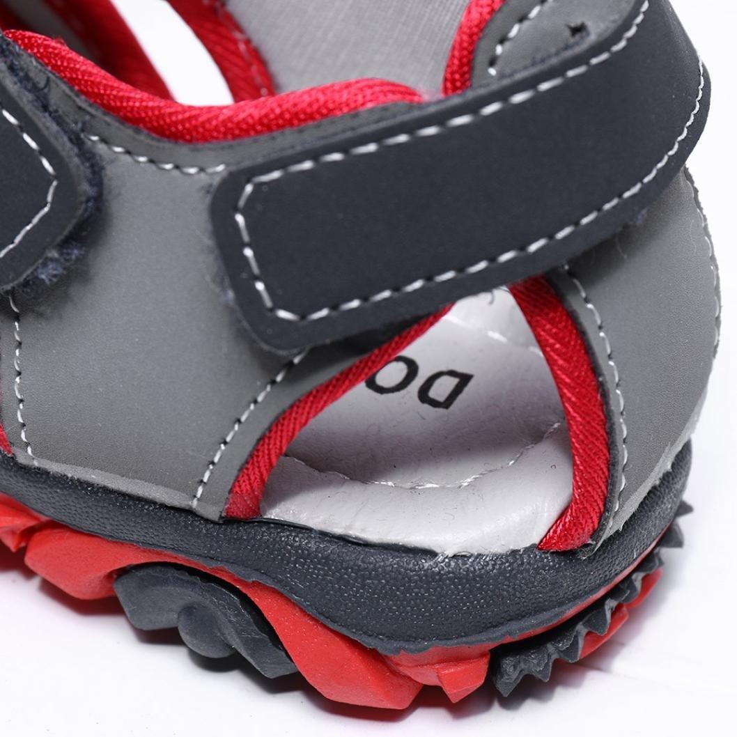 Amazon.com: botrong niños zapatos niño Niña punta cerrada ...
