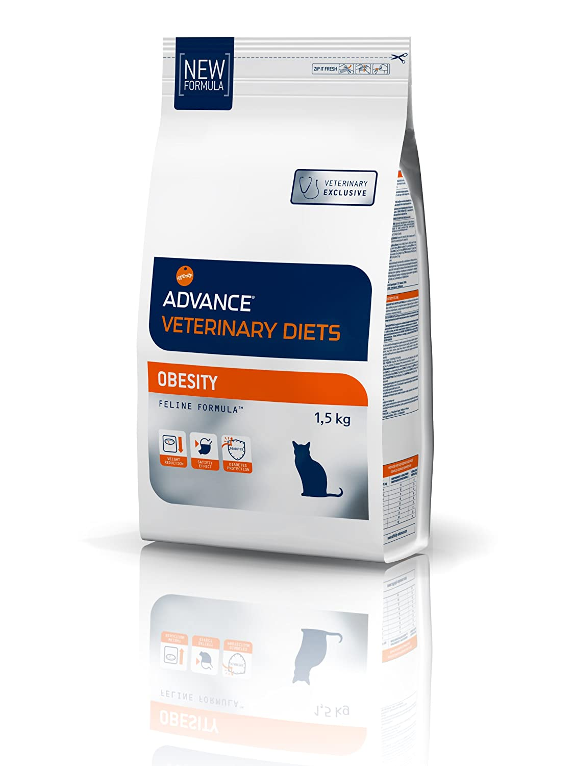 advance cat Food obesidad gato 1,5 kg + C756: Amazon.es: Productos para mascotas