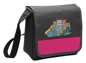 Diseño de bolsa para el almuerzo de gato damas o niñas gatos térmica para el almuerzo Bolsas: Amazon.es: Hogar