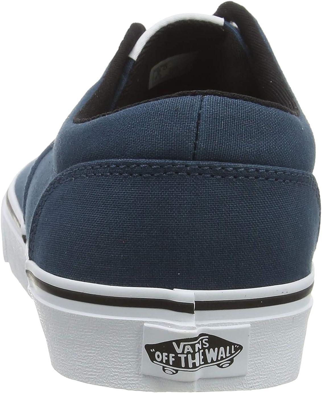 Vans Doheny, Baskets Homme Bleu Checker Lace Stargazer White