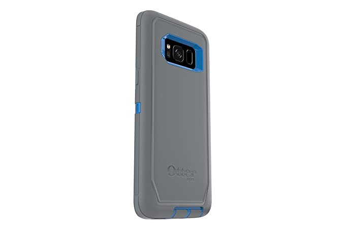 new concept 8fccc 7af6b OtterBox DEFENDER SERIES SCREENLESS EDITION for Samsung Galaxy S8 - Retail  Packaging - MARATHONER (COWABUNGA BLUE/GUNMETAL GREY)