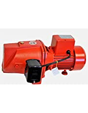 Hallmark Industries MA0345X/8 Jet Pump with Pressure Switch, 93.33 gpm, Cast Iron, Shallow Well, Self Priming, 3/4 hp, 110/220V, Heavy Duty, 135' Head