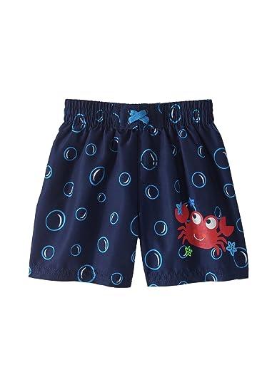 4d34331cdf Amazon.com: Healthtex Baby Boy Swim Trunk, Size 18 Months(Bubbles ...