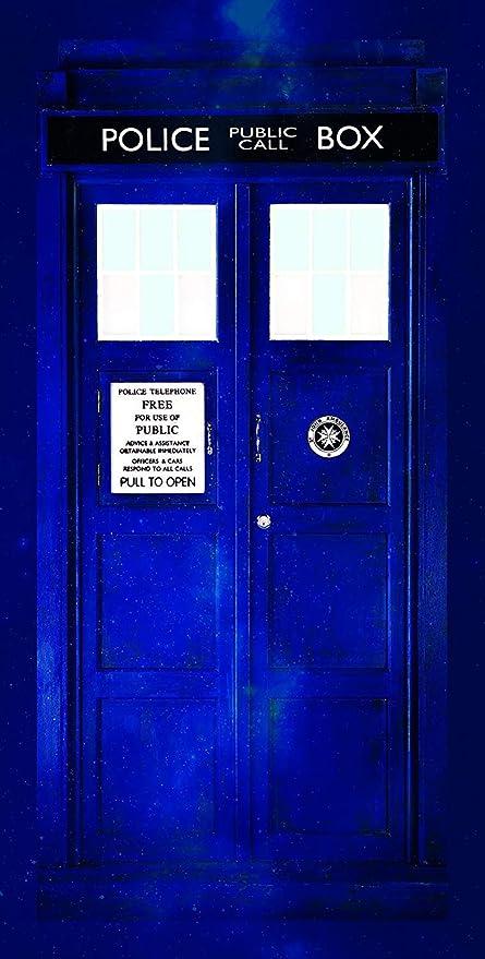 Doctor Who Tardis Cotton Beach Bath Towel 70 x 140cm: Amazon.es: Hogar