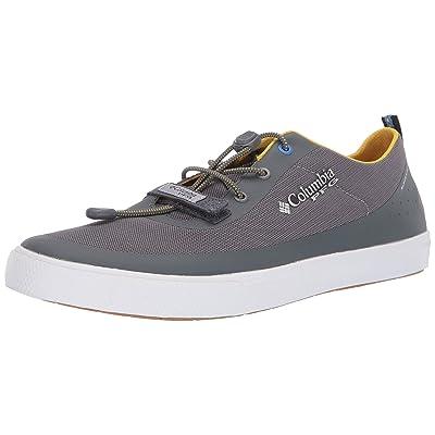 Columbia PFG Men's Dorado CVO PFG Boat Shoe Ti Grey Steel, Electron Yellow 8.5 | Water Shoes