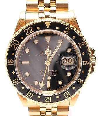 los angeles edcf3 b26fb Amazon | ロレックス 腕時計 GMTマスター2 16718 L番 自動巻き ...