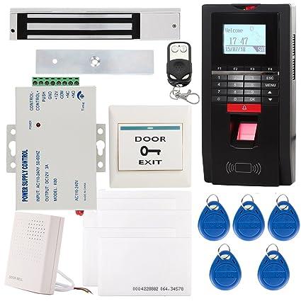 UHPPOTE Completo Kit Biométrico Huella Digital Dactilar & EM-ID Sistema De Control Acceso TCP