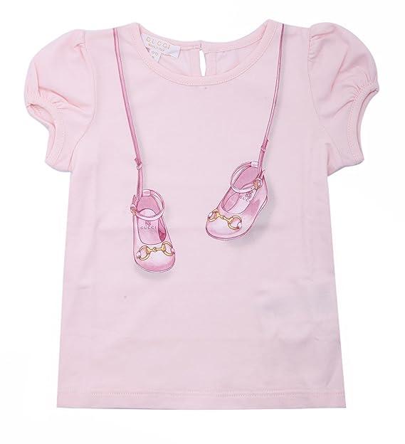 Gucci - Camiseta de manga corta - para niño rosa 24 meses
