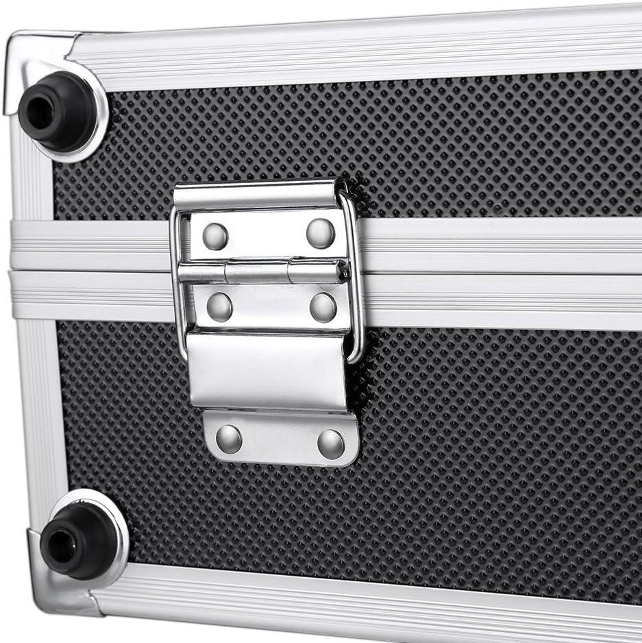 Cas de Transport Plaqueur de P/êche Goliraya 3PCS Storage Box Portable Outil Multi-Usages Outil D/'Aluminium Dur Outil de Verrouillage de Cas de Transport pour la Bo/îte de Jardin
