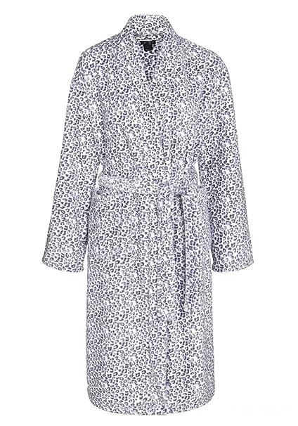 Señoras Suave Cálido Pijama Estampado De Esencial Acogedor ...