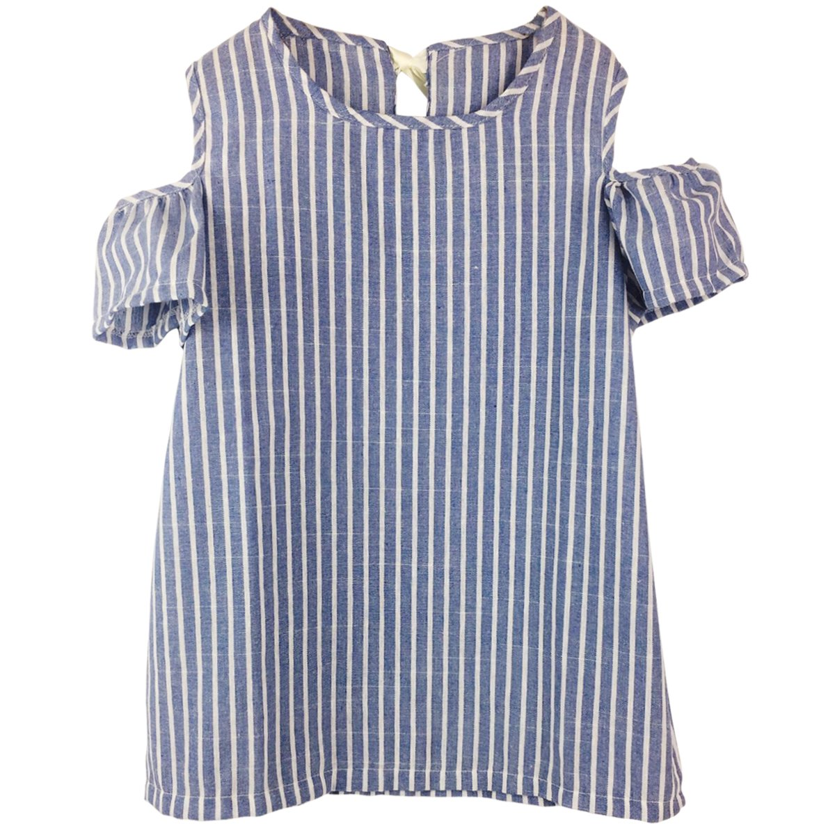 Jastore Baby Girl Clothes Summer Dress Cotton Cute Striped Princess Dresses