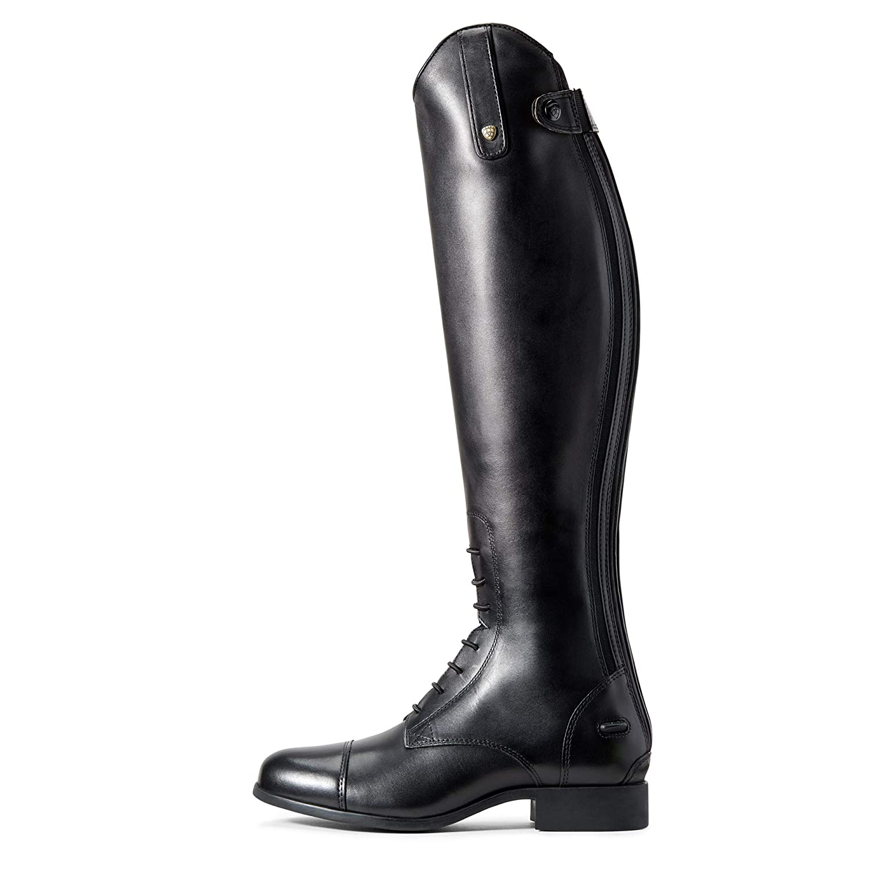ARIAT Womens Heritage Contour Ii Field Zip Tall Riding Boot Black Size 8 B//Medium Us