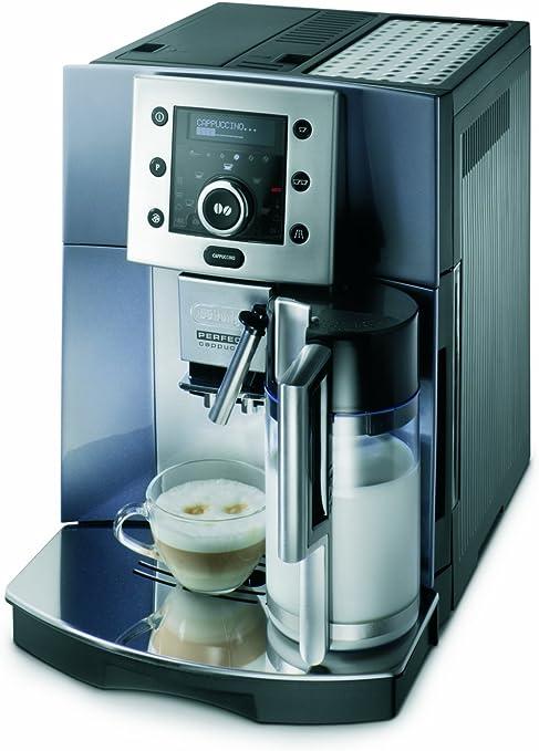 Delonghi ESAM 5500.M Máquina De Espresso Automática, 1350 W, 1.8 Litros, Acero Inoxidable, Gris: Amazon.es: Hogar