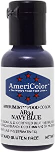 AmeriColor AmeriMist Navy Blue Airbrush Food Color, .65 oz.
