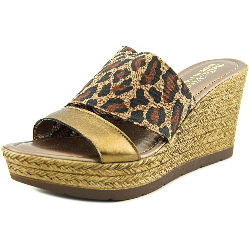 Bella Vita Women's Formia Wedge Sandal B01AAENE12 6 N US|Leopard