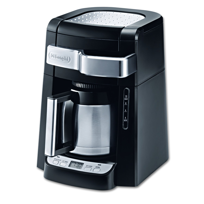 本物品質の DeLonghi DCF2210TTC Coffee 10-Cup Thermal Carafe Drip Coffee 10-Cup Maker, Maker, Black by DeLonghi B003ZDNKTM, waitea.kobe:3e665485 --- staging.aidandore.com
