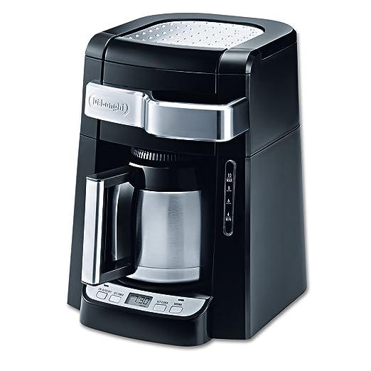 DeLonghi dcf2210ttc 10 tazas jarra térmica cafetera de goteo ...