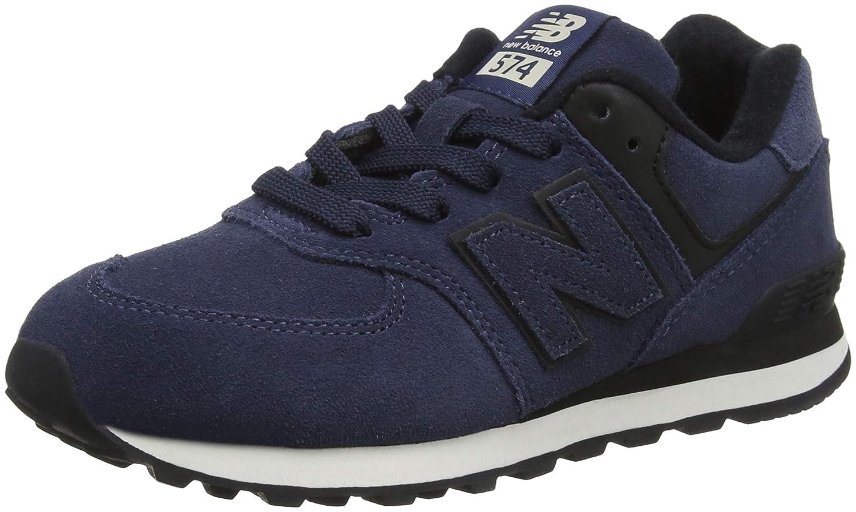 Bleu (Royal noir Er) New Balance 574v2, paniers Mixte Enfant