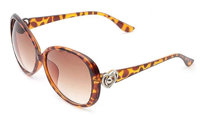 ANAZOZ Gafas de Sol Lente Leopardo Gafas Sol Mujer UV400 ...
