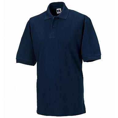 Russell Athletic - Polo - Manga Corta - para Hombre Azul Azul ...