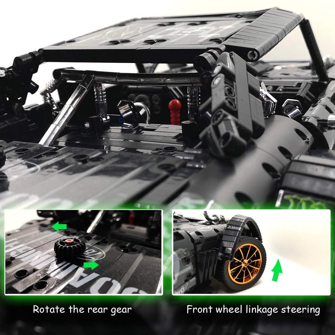 VIAHART Brain Flakes 2500 Piece Build /'n/' Build KitIncludes Wheels and Axels