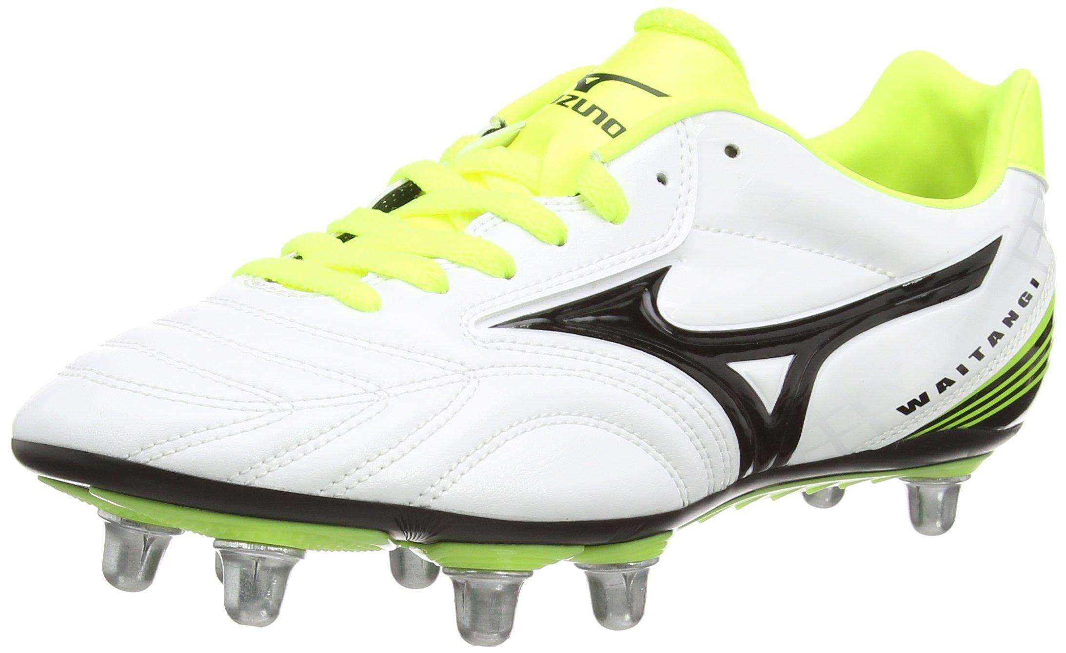 Mizuno AW15 WAITANGI PS PrimeSkin Rugby Boots - White/Yellow - UK 7