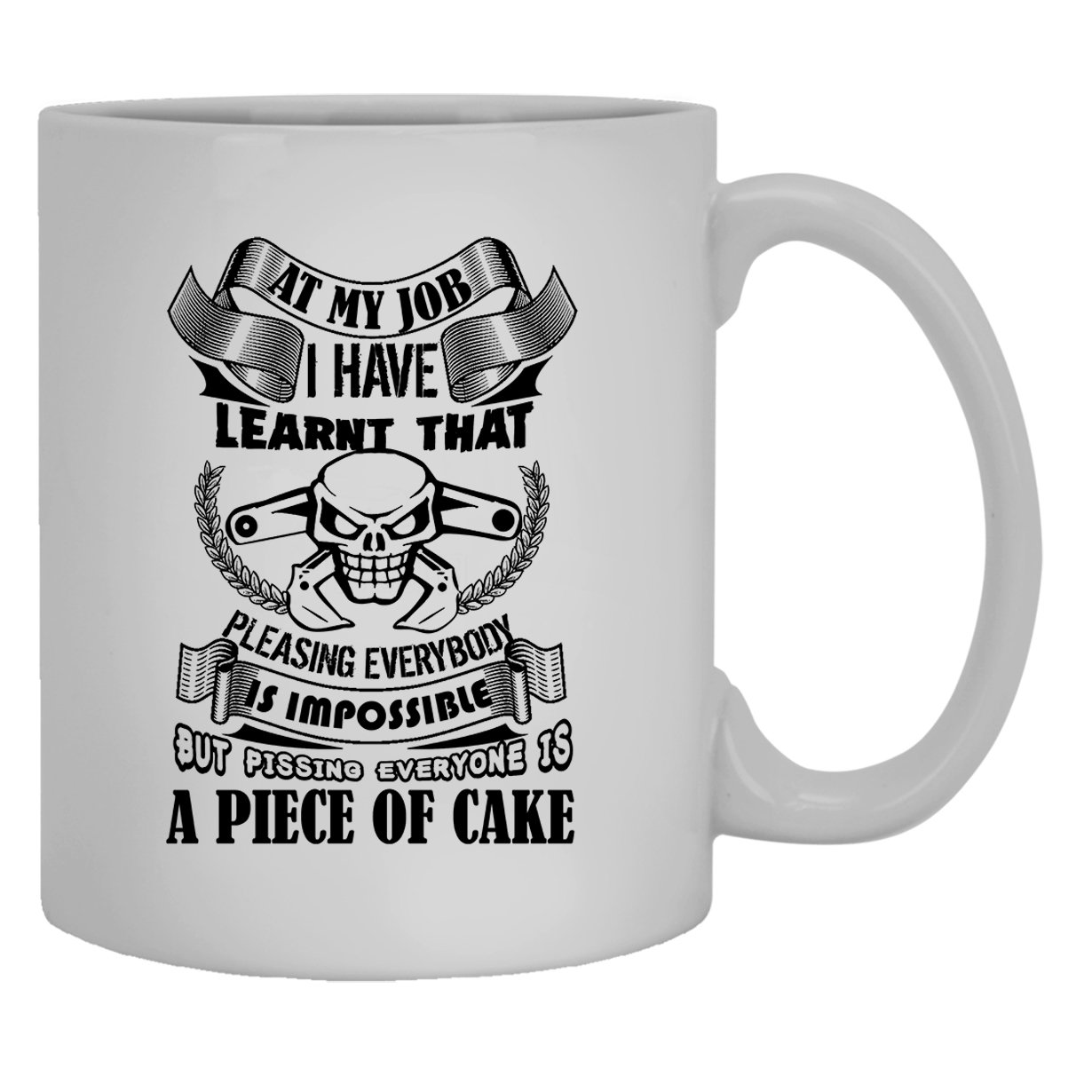 Amazon Com Heavy Equipment Operator White Mugs Heavy Equipment