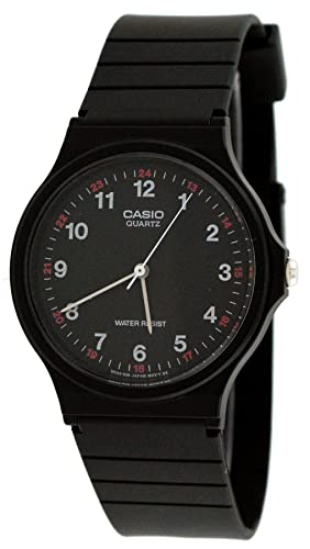 7c8f10dd2 Amazon.com: Casio MQ24-1B 3-Hand Analog Water Resistant Watch: Casio ...