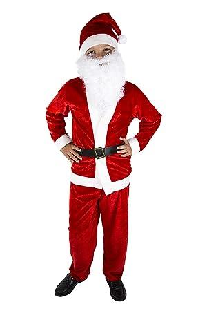 Costumizate! Disfraz de Papa Noel para niño Talla 7-9 Especial de ...