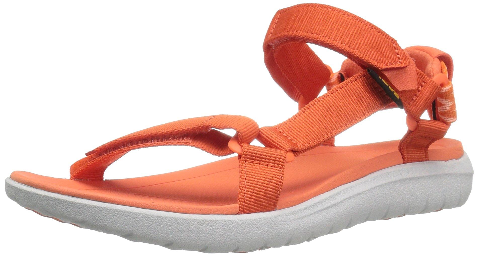 Teva Women's W Sanborn Universal Sandal, Tiger Lily, 8 M US