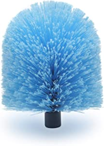 EVERSPROUT Twist-On Cobweb Duster (Soft Bristles)   Hand Packaged to Protect Bristles   Indoor & Outdoor use Brush Attachment   Fits Standard Acme Threaded Poles   Brush Only (Pole Sold Separately)