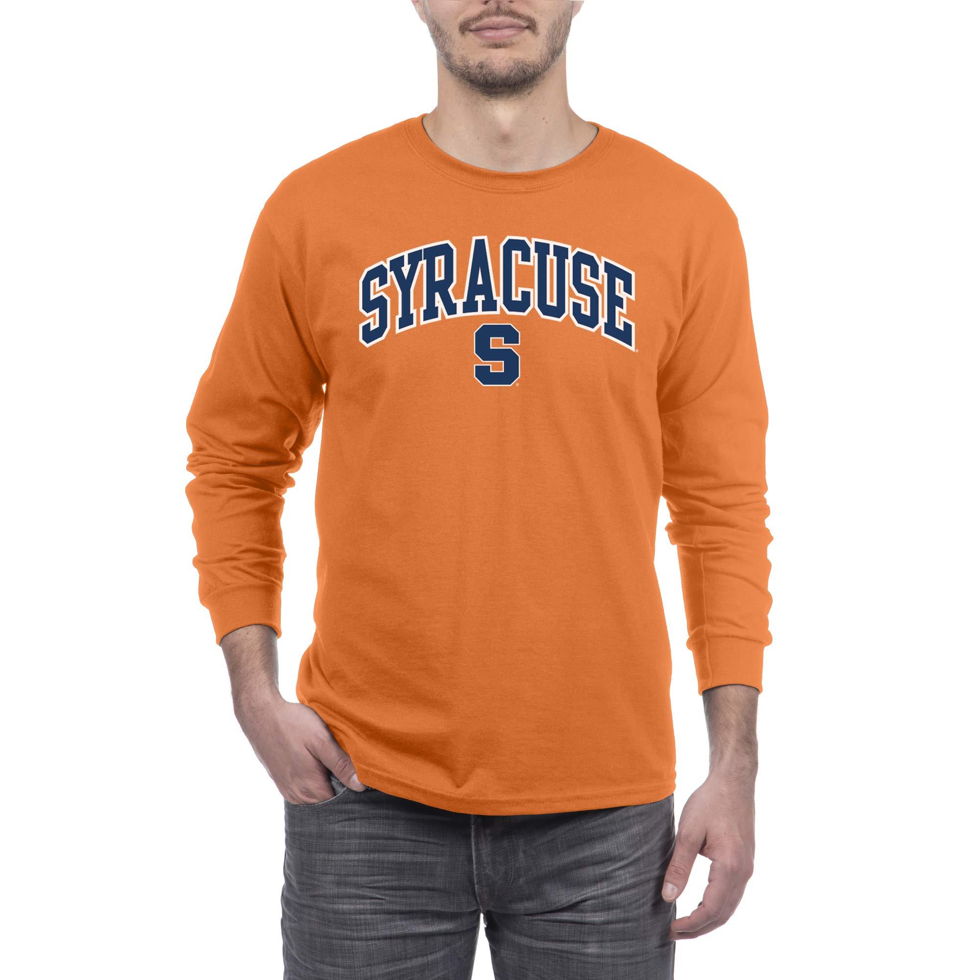 Elite Fan Shop NCAA Mens Team Color Long Sleeve Shirt
