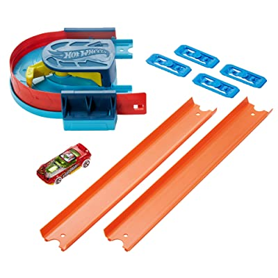Hot Wheels Track Builder Pack Curve Kicker Pack: Toys & Games