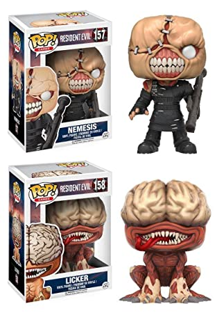 Funko Pop Games Resident Evil The Nemesis 157 11755 Protector case