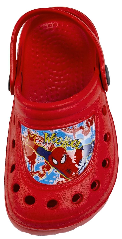 Marvel Spiderman Boys Summer Sandals Clogs