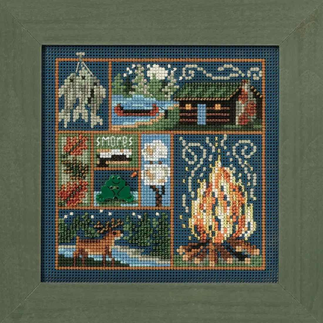 MILL HILL Buttons /& Beads  Autumn Series Cross Stitch Kit HAUNTED LIBRARY