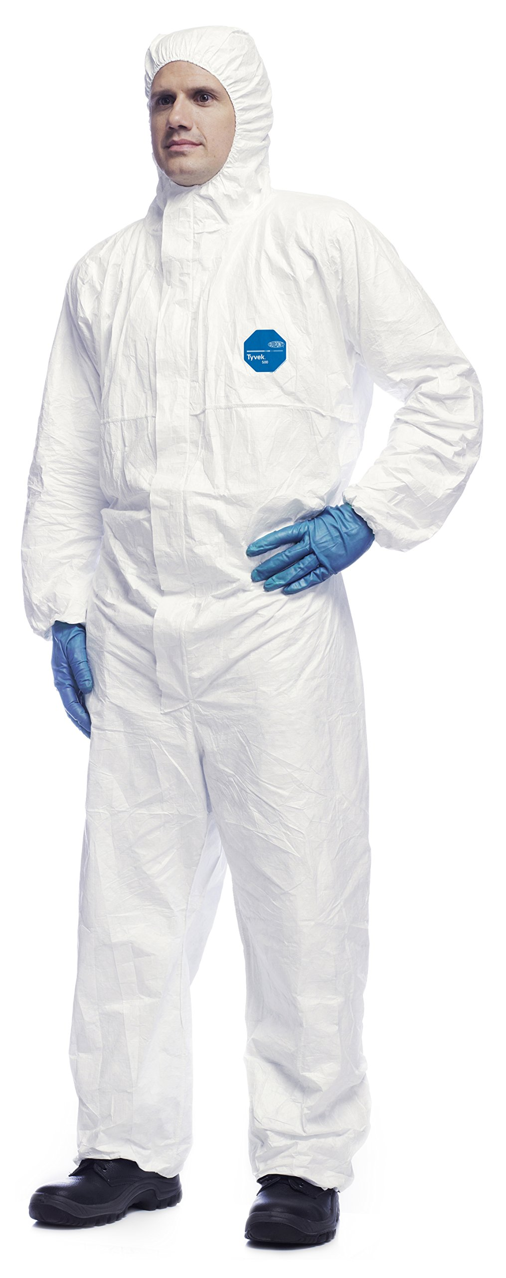 Anti-Static Protection Overall Category III Type 5 and 6 Multi-Use Protective Suit Against Chemicals Nuclear Particals Dusk