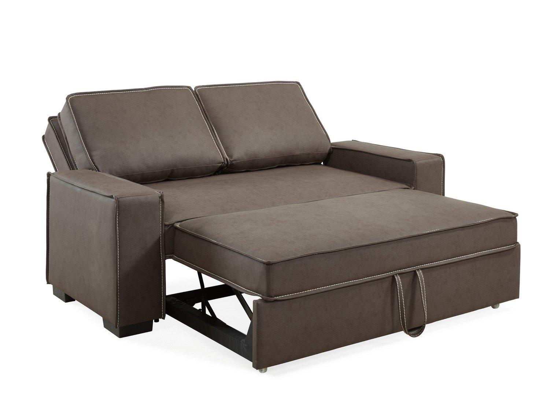 3 Places Convertible Canapé Deco Mobilier Rapido Marron I6gvfb7yY