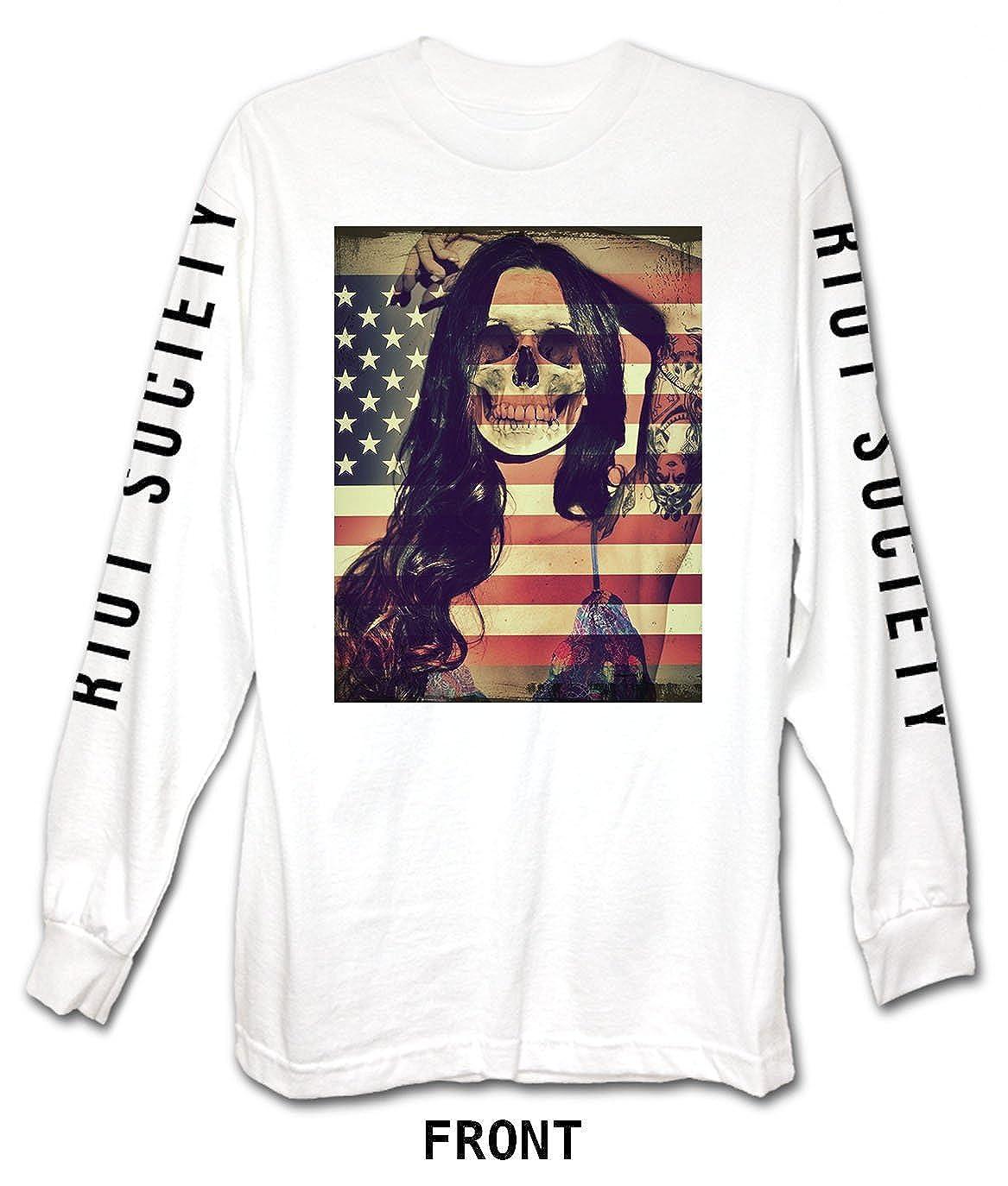 9156e678b243 Amazon.com: Riot Society Men's Long Sleeve Graphic Fashion T-Shirt: Clothing