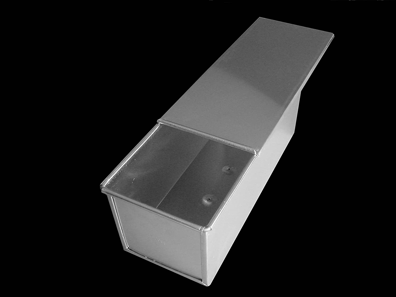 BREAD LOAF TIN PAN BOX 1000g PULLMAN SANDWICH LOAF WITH LID HOME BAKING FRESH BREAD ALUMINIUM NEW FROM CFU UK HHNM