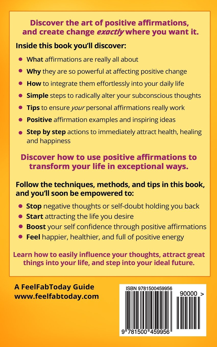 Positive Affirmations Daily Affirmations For Attracting Health