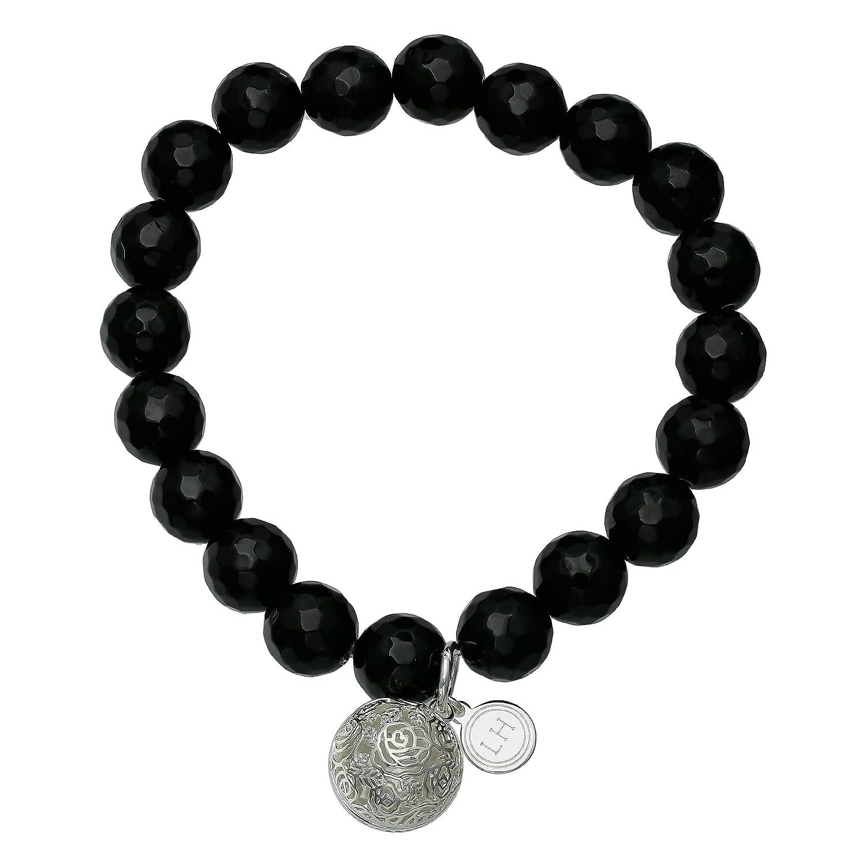 Lisa Hoffman Vibrant Bracelet with Filigree Fragrance Charm Includes Three Fragrance Beads