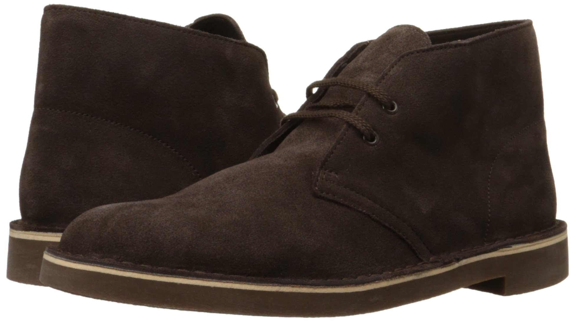 Clarks Men's Bushacre 2 Chukka Boot,Brown Suede,13 M US by CLARKS (Image #6)