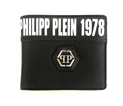 spedizione gratuita 9b820 94dca PHILIPP PLEIN portafoglio in tessuto uomo modello ...